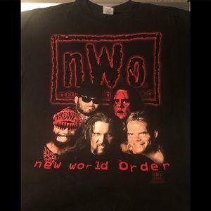 Vintage WCW NWO shirt